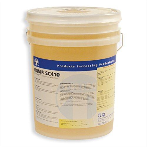 TRIM Cutting & Grinding Fluids SC410/5 Chlorine-Free Semisynthetic Coolant, 5 gal Pail by TRIM