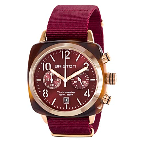 Man Women's Watch Chronograph Quartz Watches androgynous Fashion Watch His or Hers Wristwatch for Men Women Lovers Wedding Romantic Gift Wine Red