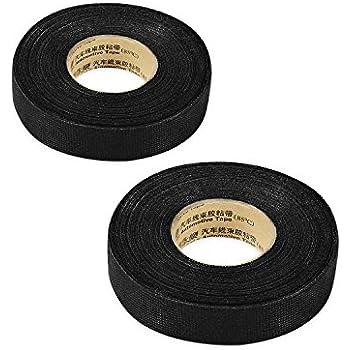 41YHgBKbbIL._SL500_AC_SS350_ amazon com 2pcs wiring loom harness adhesive cloth fabric tape wiring loom harness adhesive cloth fabric tape at eliteediting.co