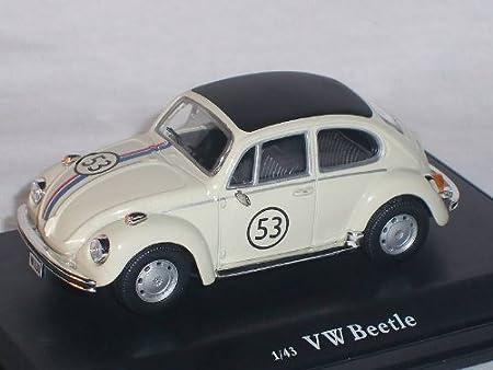 Alles Meine De Gmbh Volkwagen KÄfer Herbie Nr 53 1 43 Modellcarsonline Modellauto Modell Auto Spielzeug
