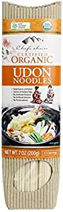 Chef's Choice Organic Udon Stick Noodle 200 g