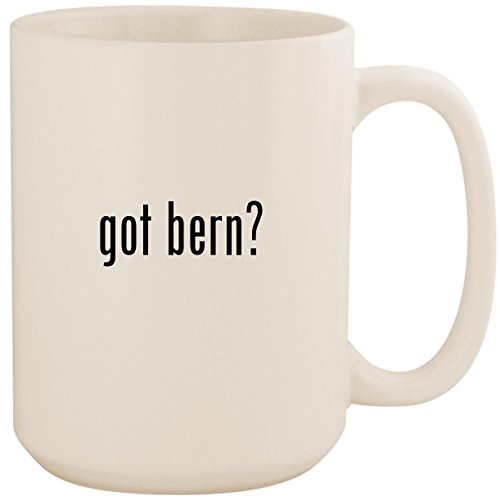 got bern? - White 15oz Ceramic Coffee Mug Cup - Macon Knit Hard Hat