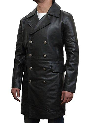 motociclista cuero de para De chaqueta la vendimia de hombre Brandslock bombardero SUZ4xAx
