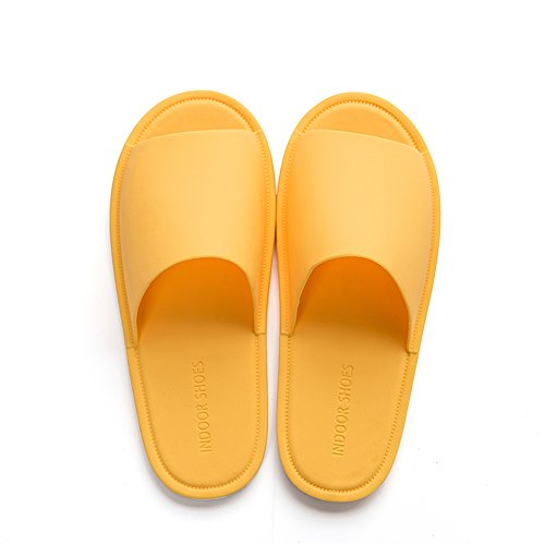 Indoor Shoes Mango Kids Slides Paangkei Slippers Big Home Mens Sandals Womens Yellow for wP44q8I