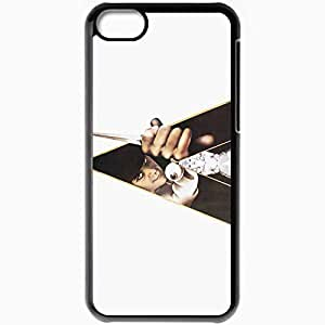 Personalized iPhone 5C Cell phone Case/Cover Skin A Clockwork Orange Black