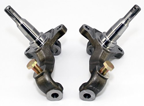 Height Spindles Stock (Proheader PB602 - Camaro Chevelle Stock Height Spindle One Piece Forged)
