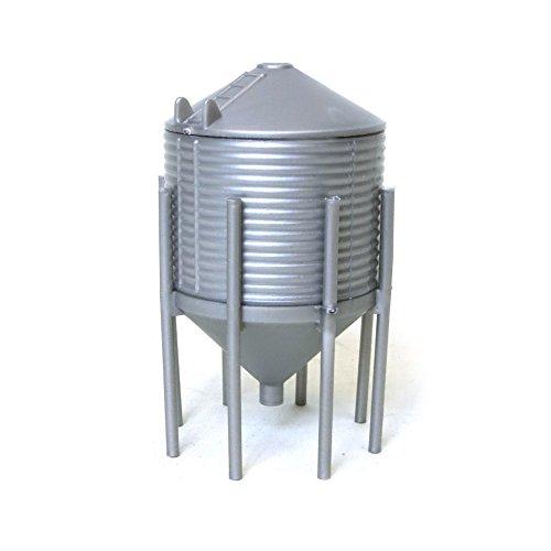 Grain Hopper - 1/64th Plastic Grain Hopper Bin Model 1234 by Standi Toys