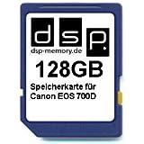 DSP Memory Z-4051557435995 128GB Speicherkarte für Canon EOS 700D