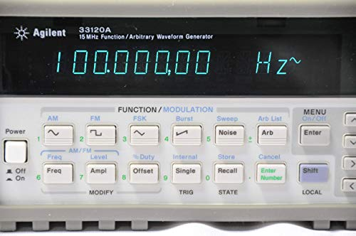 Agilent 33120A 15 MHz Function Arbitrary Waveform Generator (Renewed)
