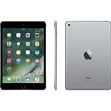 "Apple iPad Mini 4 with 7.9"" Retina Display, 128GB SSD, 2GB RAM, Dual-Core A8 Chip, Quad-Core Graphics, Wi-Fi, MIMO, Bluetooth, Apple iOS 9, Space Gray"