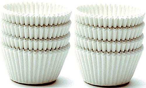 Norpro Giant Muffin Cups, White,2 Packs of 48 - Giant Muffin