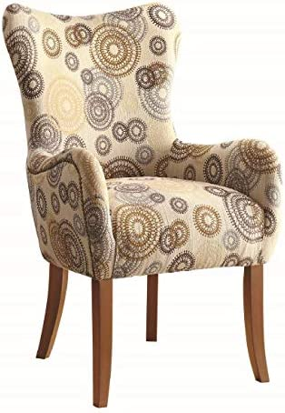 Accent Chair with Nailhead Trimming Multi-color