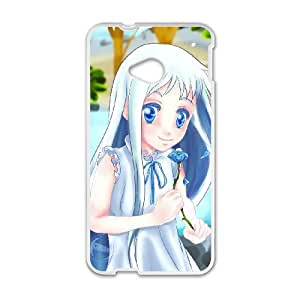 HTC One M7 Cell Phone Case Covers White anohana W2267859