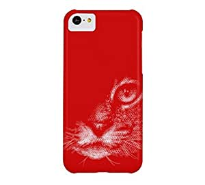 The Cat iPhone 5c Boston University Red Barely There Phone Case