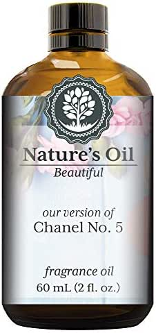Our version of No. 5 Fragrance Oil (60ml) For Perfume, Diffusers, Soap Making, Candles, Lotion, Home Scents, Linen Spray, Bath Bombs, Slime