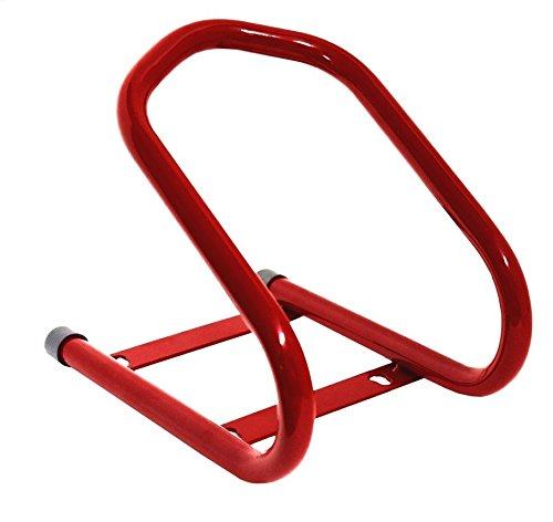 rouge cruizer chevalet Bloque Roue Moto Avant Universel m/étal Chariot