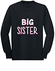 Big Sister - Siblings Gift Idea Older Sister Toddler/Kids Long sleeve T-Shirt