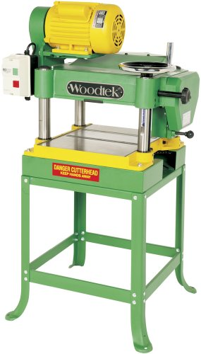 """Woodtek 124070, Machinery, Jointers & Planers, 15"""" Planer Open Stand 3hp 1ph 230v"""
