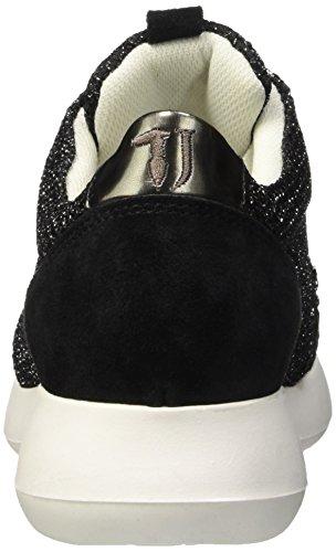 Trussardi Nero Baskets Jeans 79s02249 Noir Femme 19 vqfvYrw