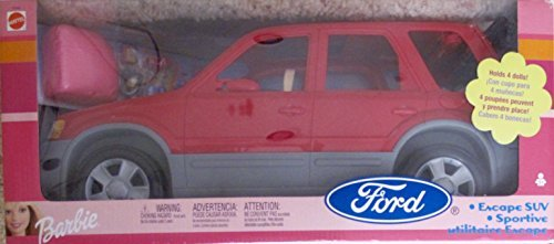 Barbie Ford Escape Suv Vehicle Van W Accessories 2002