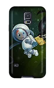 7145340K83873465 Flexible Tpu Back Case Cover For Galaxy S5 - Funny