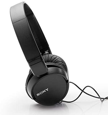 Sony MDRZX110/BLK ZX Series Stereo Headphones (Black) 41YHmgiFPYL