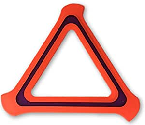 Mob 9 Flying Triangle - Outdoor Toy - Best Flying Disc/Ring/Frisbee Games for Beach, Garden, Park - Flies Like A Boomerang