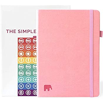 Amazon.com : kikki.K 18/19 A6 Bonded Leather Weekly Diary ...
