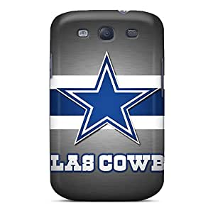 Protective Cell-phone Hard Cover For Samsung Galaxy S3 With Unique Design Lifelike Dallas Cowboys Skin ChristopherWalsh
