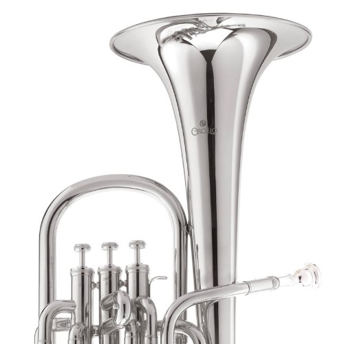 Cecilio 2Series AH-280N Eb Alto Horn with Stainless Steel Valves, Nickel by Cecilio