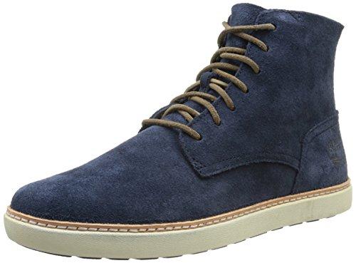 Blu blue bleu Timberland Uomo Stivali Hudston Boot Ek Plain Toe 4nwAHq0O