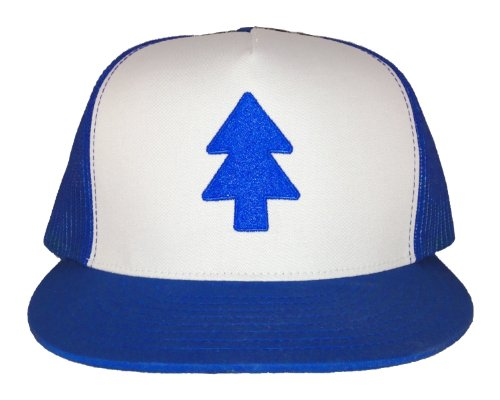 Gravity Falls - Dippers Hat - Embroidered Trucker Hat (L/XL)