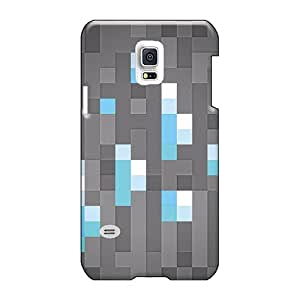 Scratch Resistant Hard Cell-phone Case For Samsung Galaxy S5 Mini (fvw3302AcsM) Customized High-definition Mine Craft Diamonds Image