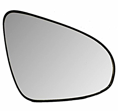 Rear Backing Plate (Right Pass Side Heated Mirror Glass w/ Rear Backing Plate for 12-17 Toy Camry)