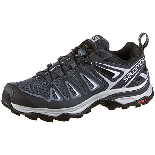 Salomon X Ultra 3 Womens Hiking Shoes Stormy Weather/Ebony/Cashmere Blue Sz 7.5