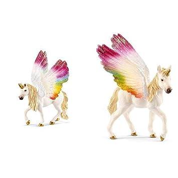 Schleich 70525 Regenbogeneinhorn Fohlen günstig kaufen Spielzeugfigur