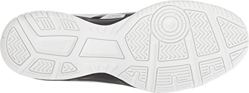 ASICS Men's Upcourt 3 Volleyball Shoes, White/Black, Size 11