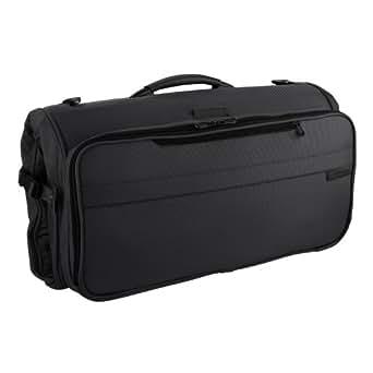 Briggs & Riley Baseline Compact Tri-Fold Garment Bag,Black,14x22x8.5