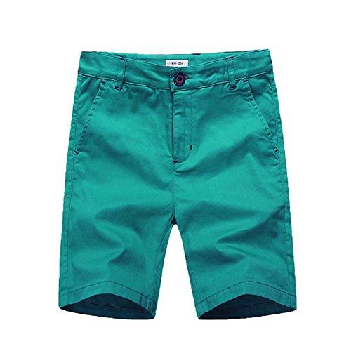 BASADINA Boys Shorts School Uniforms - Casual Cargo Shorts for Boys 6 Color 5-14 Years ()