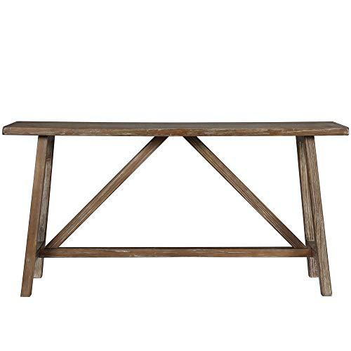 Ameriwood Home Bennington Console Table, Natural