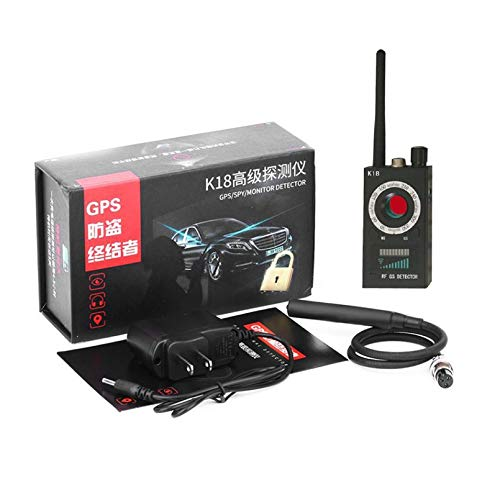 Bubbry K18 Anti-Espionaje Anti-Fuga de Disparo Detector inal/ámbrico de GPS Detector de Errores de Audio