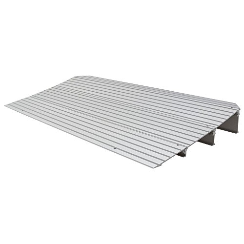 "Rage Powersports THR3 3-1/4"" High Aluminum Threshold Ramp for Wheelchairs, Scooters, and Power Chairs"
