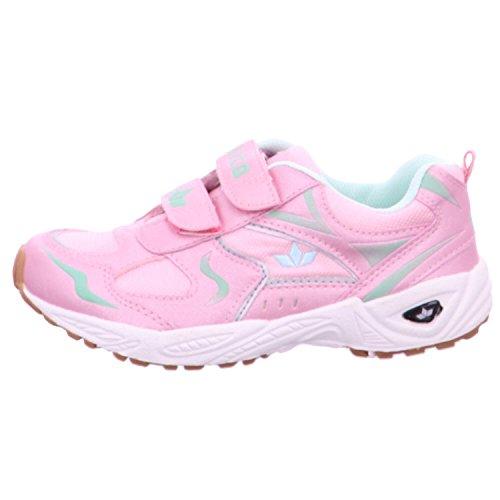 Lico - Zapatillas para deportes de interior para niña Rosa