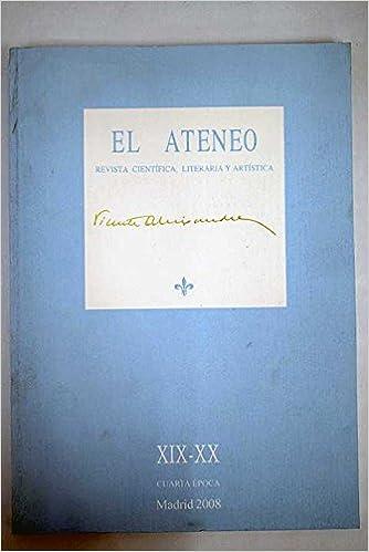 El Ateneo Revista Científica Literaria Y Artística Número Xix Xx