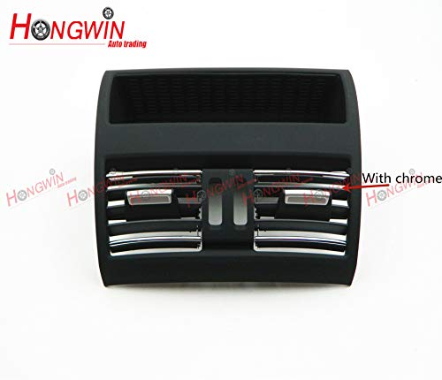 HW 64229172167 Rear AC Conditioning Air Vent Grill Center For BMW 5 Series F10 F11 2010-2016, 64 22 9 172 167