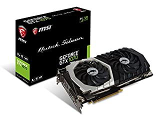 MSI Gaming GeForce GTX 1070 8GB GDDR5 SLI DirectX 12 VR Ready Graphics Card (GTX 1070 Quick Silver 8G OC) (B01MSLDM12) | Amazon price tracker / tracking, Amazon price history charts, Amazon price watches, Amazon price drop alerts