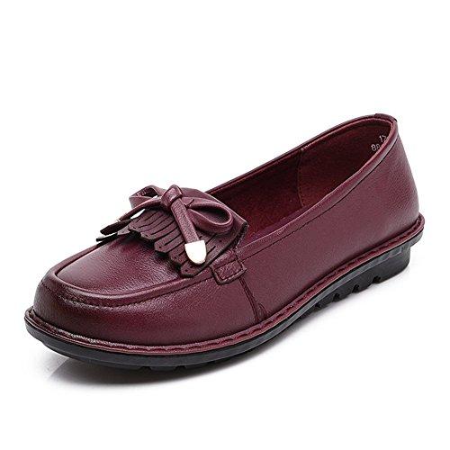 Zapatos de damas casual/Zapatos cuñas talla media edad/Mamá y fondo suave zapatos/Zapatos de las señoras B