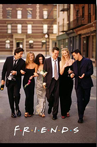Friends Poster TV Show Promo 11 x 17 inches Street