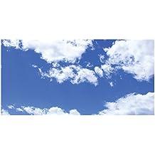 Sky Clouds - 2ft x 4ft Drop Ceiling Fluorescent Decorative Ceiling Light Cover Skylight Film