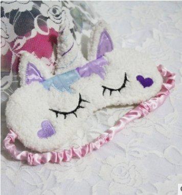 Jellbaby Cute Sleep Mask Eye Mask per Rilassante da Viaggio Sleeping H